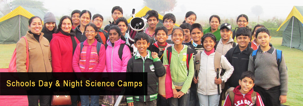 Schools Day and Night Science Camps