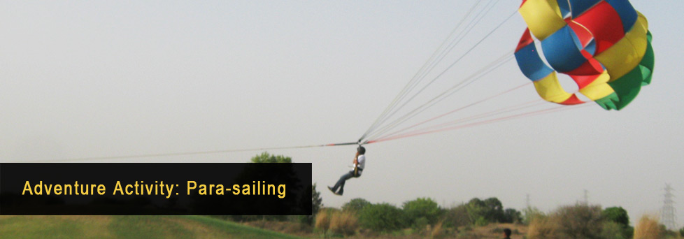 Adventure Activity - Para-Sailing
